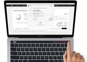 macbook pro magic toolbar touch id
