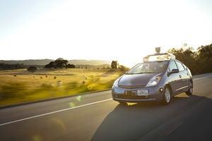 An autonomous car