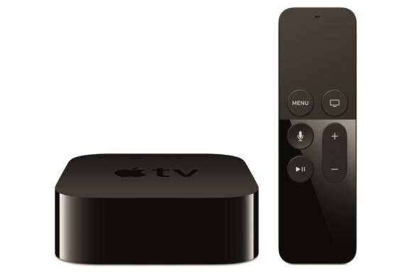 Apple TV 4G with remote