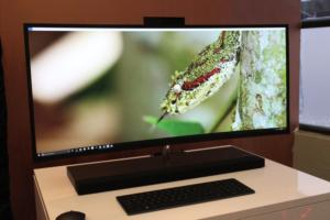 HP curved 34-inch Envy all-in-one