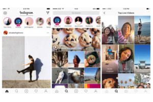 instagram stories live video ios app