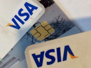 visa cards credit debit money