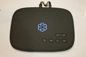 Ooma Telo base station at CES