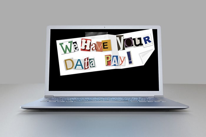 ransomware data laptop
