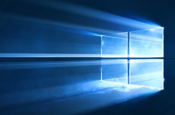 windows 10 wallpaper logo