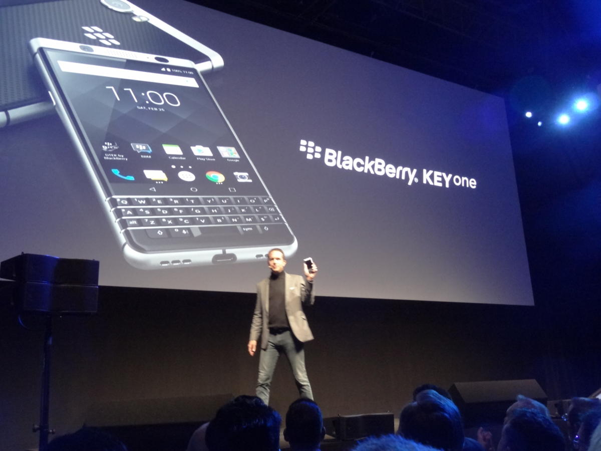 BlackBerry KEYone TCL Communications Nicolas Zibell