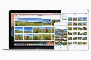icloud photo library stock