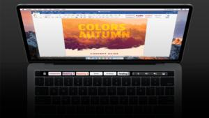 office for mac word touchbar support