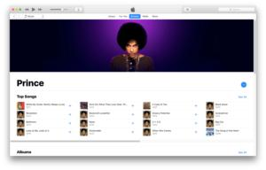 prince apple music