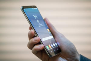 samsung galaxy s8 s8plus hand side