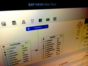 sap vora screenshot