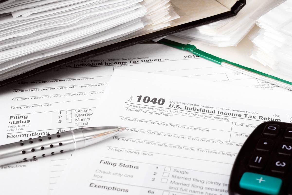 taxes thinkstock