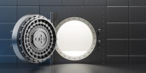 thinkstockphotos vault safe bank door