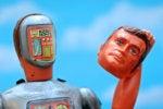 unmasked robot